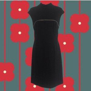 vintage 90's Mark New York black zipper dress